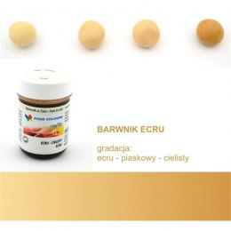 Ecru, cielisty - barwnik w żelu (35g) - Food Colours