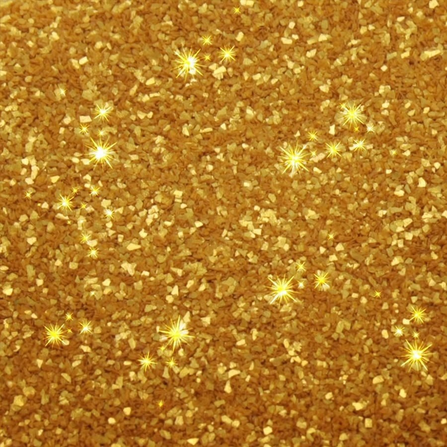 Brokat jadalny - GOLD - Rainbow Dust
