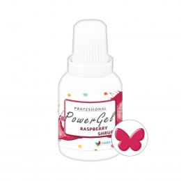 Raspberry Shrub Power Gel MALINOWY barwnik w żelu 20g - Food Colours